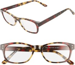 Edie 51mm Reading Glasses - Red Tort