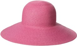 'Hampton' Straw Sun Hat - Pink