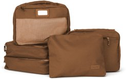 Set Of 5 Packing Cubes - Brown