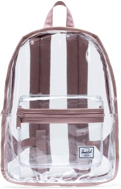 Classic Clear Mid Volume Backpack - Pink