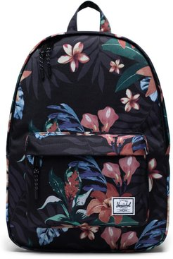 Classic Summer Floral Mid Volume Backpack -