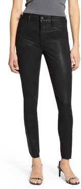 Hilary High Waist Coated Skinny Jeans