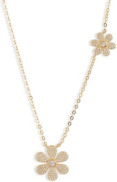 Daisy Power Pave Necklace