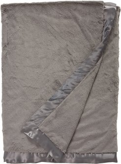 Luxe(TM) Faux Fur Solid Throw