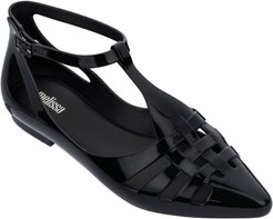 Spider Ankle Strap Flat