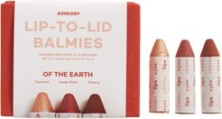 Lip-To-Lid Balmies Set - Of The Earth