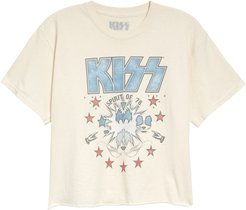 Kiss Spirit Of '76 Crop Graphic Tee