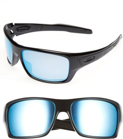 Turbine H2O 65Mm Polarized Sunglasses - Black/blue
