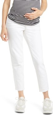 Over The Bump Maternity Straight Leg Jeans