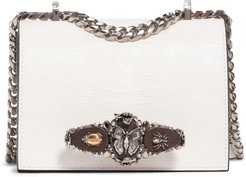 Small Butterfly Knuckle Leather Shoulder Bag -