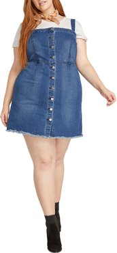 Plus Size Women's Volcom Vol Stone Denim Dress