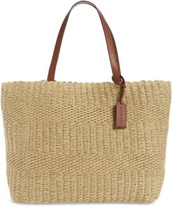 Straw Tote -