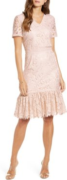 Lace Ruffle Hem Dress, Size - (Nordstrom Exclusive)