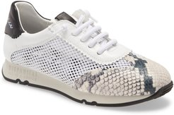 Kyra Leather & Mesh Sneaker