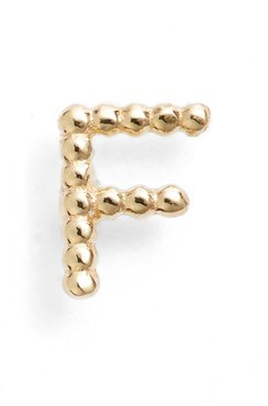 Single Initial Stud Earring (Nordstrom Exclusive)