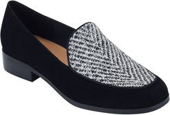 Pip8 Woven Apron Toe Loafer Flat