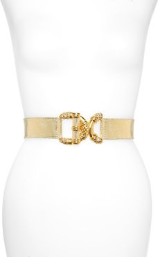 Viper D-Ring Buckle Leather Belt