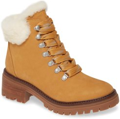 Gentle Souls by Kenneth Cole Brooklyn 2.0 Genuine Shearling Lined Lace-Up Boot at Nordstrom Rack