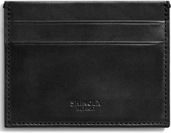 Harness Leather Card Case - Black