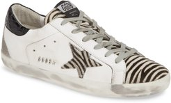 Superstar Genuine Calf Hair Sneaker