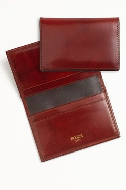 Calling Card Case - Brown