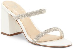 Magaly Crystal Embellished Slide Sandal