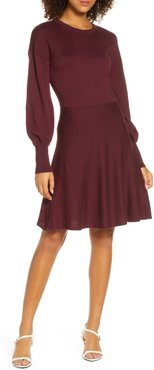 Orla Fit & Flare Sweater Dress