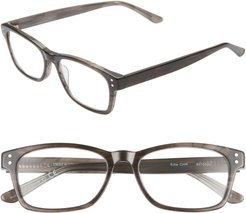 Edie 51mm Reading Glasses - Black