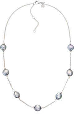 Luxe Coin Pearl Necklace
