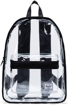 Classic Clear Mid Volume Backpack - Black