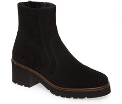 Rolet Zip Bootie With Genuine Shearling Lining