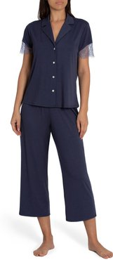 Camille Lace Trim Pajamas