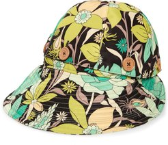 Floral Convertible Hat -