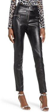 Highlight Faux Leather Pants