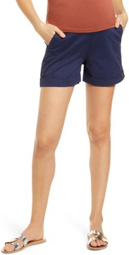 Over The Belly Maternity Shorts
