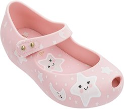 Toddler Girl's Mini Melissa Ultra 23 Glow In The Dark Mary Jane Flat