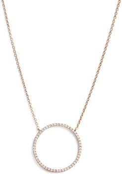 Simple Obsessions Circle Pendant Necklace (Nordstrom Exclusive)