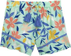 Girl's Peek Aren'T You Curious Malibu Shorts