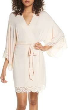 Marry Me Lace Trim Robe