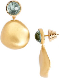 Mar Semiprecious Stone Drop Earrings