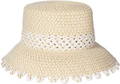 Mita Squishee Bucket Hat - White