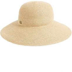 'Hampton' Straw Sun Hat - Beige