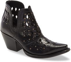 Dixon Perforated Studded Bootie