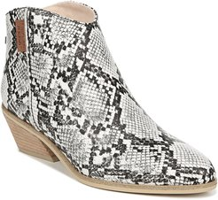 Lucky One Snake Embossed Bootie