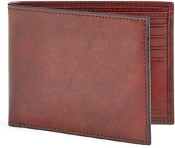 Old Leather Deluxe Wallet - Brown
