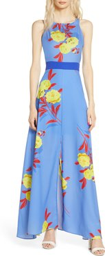 Polly Tropical Floral Maxi Dress