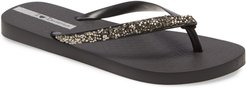 Pebble Embellished Flip Flop
