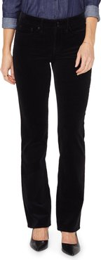 Marilyn Double Snap Waist Straight Leg Jeans