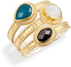 Stone Stack Ring