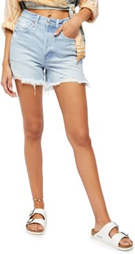 Makai Ripped Cutoff Denim Shorts